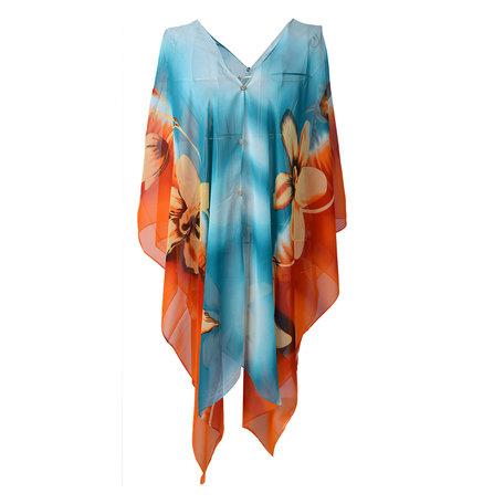 Tuniek One size Blauw | MLCL0007BL | Clayre & Eef