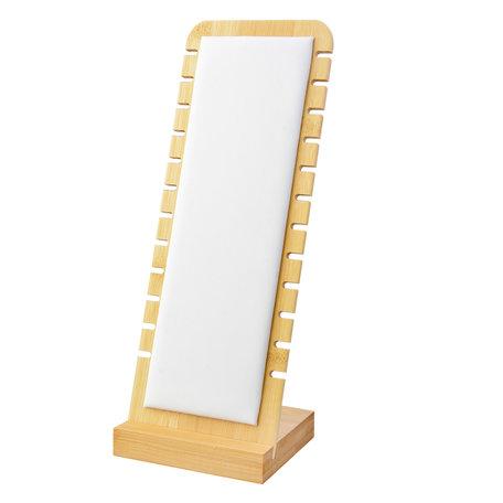 Sieraden display 10*28 cm Wit | MLDS0062 | Clayre & Eef
