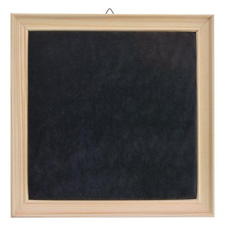 Sieraden display 22*22 cm Zwart | MLDS0065 | Clayre & Eef