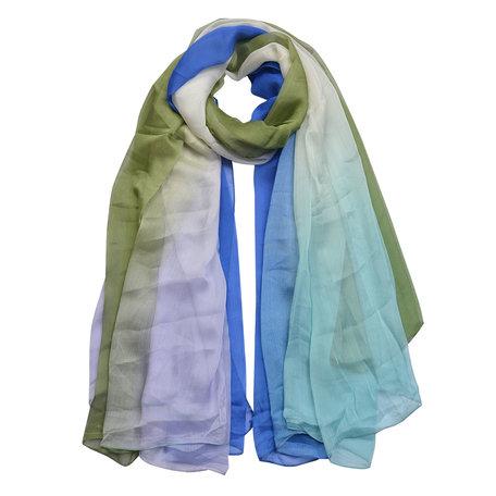 Sjaal 140*180 cm Groen | MLSC0424GR | Clayre & Eef