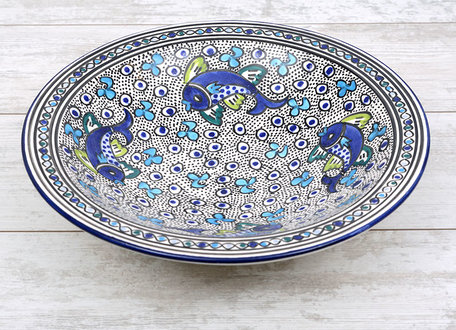 Salade schaal Poisson Ø 35 cm | SOR.AD.35 | Dishes & Deco