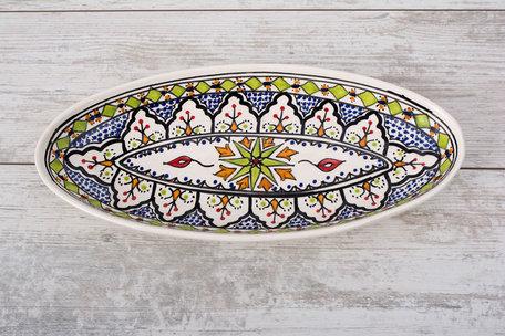 Ovale schaal Azis 40 cm | OS.AZ.40 | Dishes & Deco