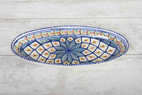 Ovale schaal Shebka 40 cm | OS.AE.40 | Dishes & Deco