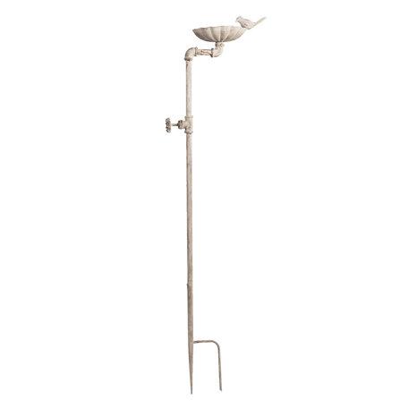 Tuinprikker 16*17*120 cm Grijs   5Y0655   Clayre & Eef