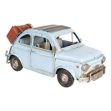 Model auto 28*13*12 cm Blauw   6Y3396   Clayre & Eef