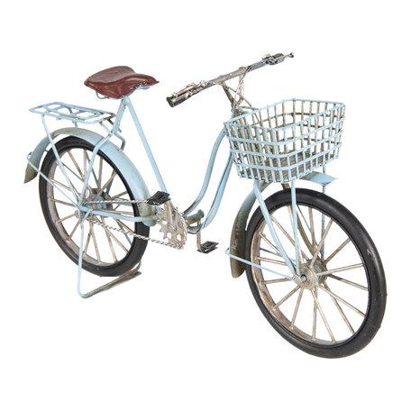 Model fiets 30*10*17 cm Blauw | 6Y3397 | Clayre & Eef