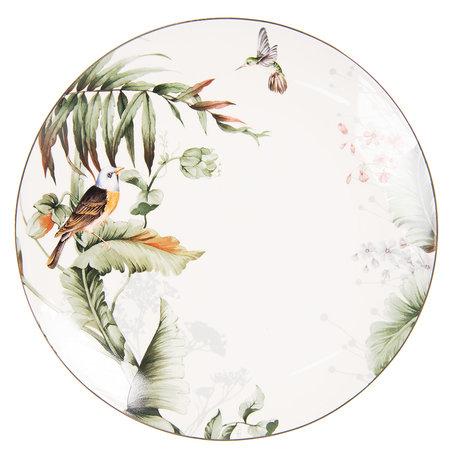Groot bord ø 26*2 cm Meerkleurig | TRBFP | Clayre & Eef