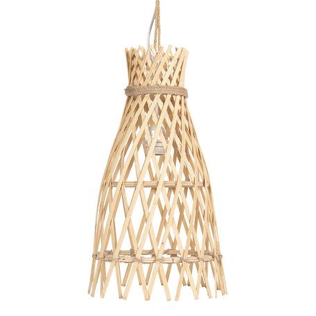 Hanglamp ø 34*63 cm E27/max 1*60W Creme | 6LMP633 | Clayre & Eef
