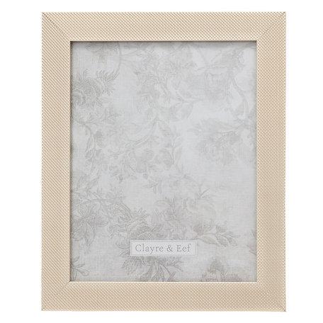 Fotolijst 24*2*29 / 20*25 cm Zilverkleurig | 2F0615L | Clayre & Eef