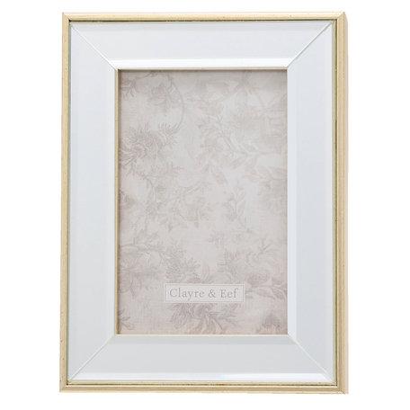 Fotolijst 15*2*20 / 10*15 cm Zilverkleurig | 2F0622S | Clayre & Eef