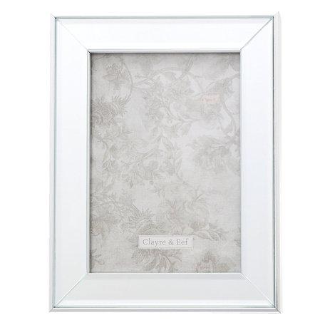 Fotolijst 18*2*23 / 13*18 cm Zilverkleurig | 2F0623M | Clayre & Eef
