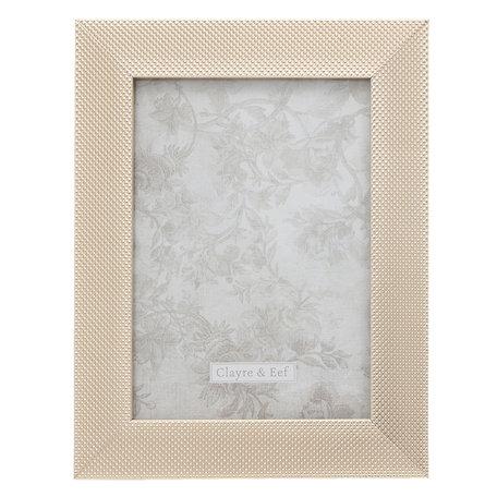 Fotolijst 17*2*22 / 13*18 cm Zilverkleurig | 2F0615M | Clayre & Eef