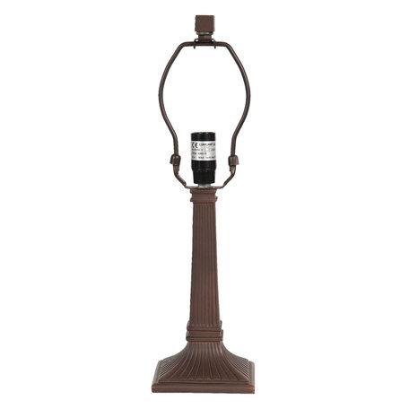 Lampenvoet 11*11*38 cm E14 max 1*40W Bruin | 5LL-6036 | Clayre & Eef