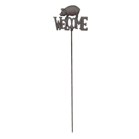 Tuinprikker 22*2*96 cm Bruin | 5Y0522 | Clayre & Eef