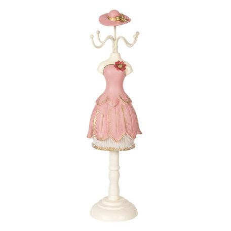 Juwelenhouder 9*8*33 cm Pink | 64470 | Clayre & Eef