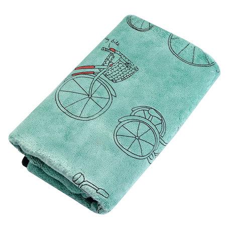 Handdoek 35*75 cm Groen | TOW0012GR | Clayre & Eef