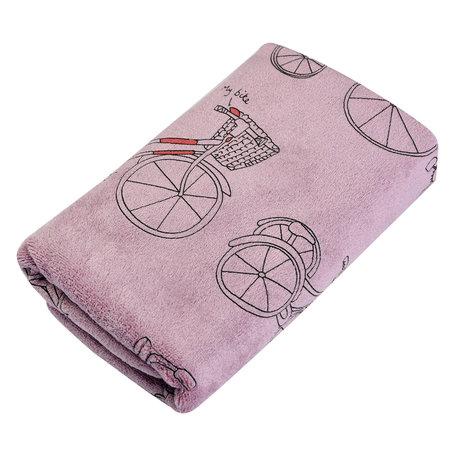 Handdoek 35*75 cm Pink | TOW0012P | Clayre & Eef