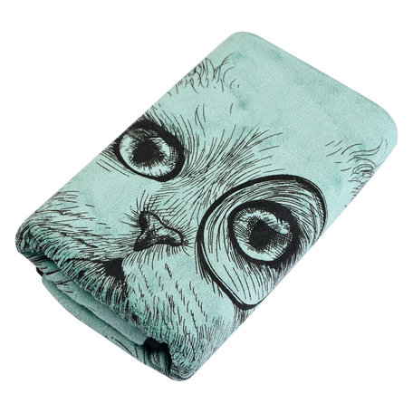 Handdoek 35*75 cm Groen | TOW0013GR | Clayre & Eef