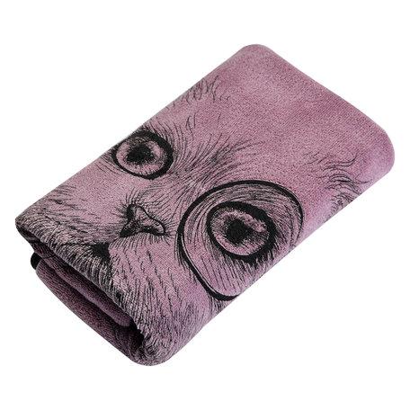 Handdoek 35*75 cm Pink | TOW0013P | Clayre & Eef