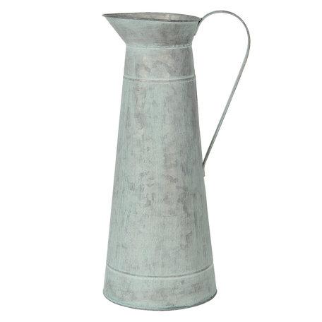 Decoratie kan ø 15*44 cm Grijs | 6Y3739 | Clayre & Eef