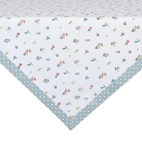 Tafelkleed 100*100 cm Creme | ISL01 | Clayre & Eef