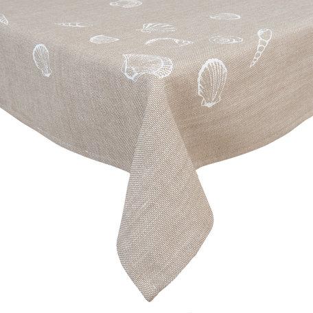 Tafelkleed 100*100 cm Natuur | SES01N | Clayre & Eef