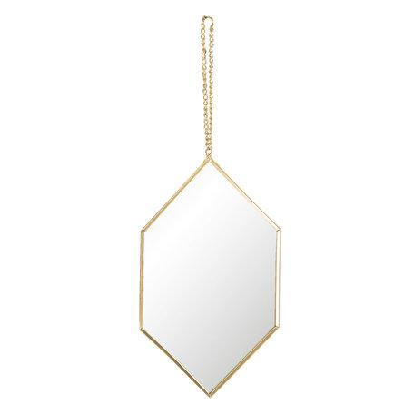 Spiegel 12*1*22 cm Zilverkleurig   62S172   Clayre & Eef