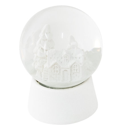 Sneeuwbol ø 5*6 cm Wit | 64256 | Clayre & Eef