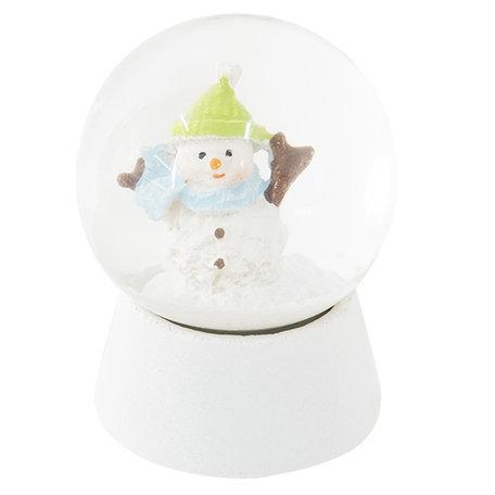 Sneeuwbol ø 5*6 cm Wit | 64259 | Clayre & Eef