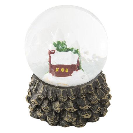 Sneeuwbol ø 5*6 cm Meerkleurig | 64261 | Clayre & Eef