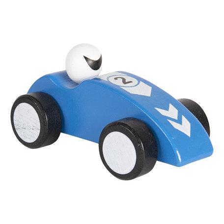 Decoratie auto 14 cm Blauw   64421BL   Clayre & Eef