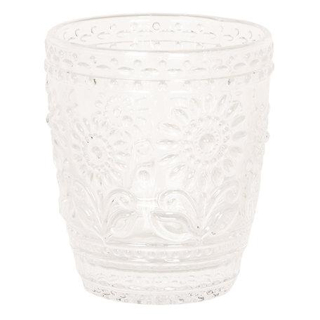 Drinkglas ø 9*10 cm Transparant | 6GL2497 | Clayre & Eef