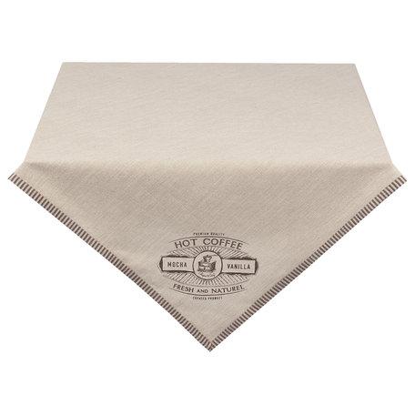 Tafelkleed 100*100 cm Beige | BFC01 | Clayre & Eef