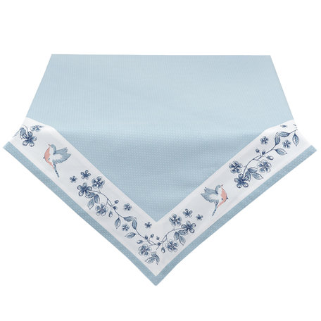 Tafelkleed 150*250 cm Blauw | EBI05 | Clayre & Eef