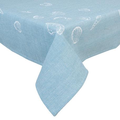 Tafelkleed 100*100 cm Blauw | SES01BL | Clayre & Eef
