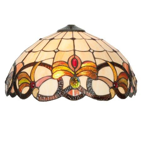 Lampenkap Tiffany ø 40 cm Multi | 5LL-5764 | Clayre & Eef