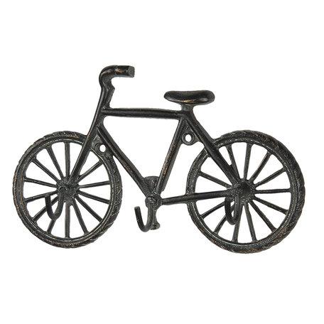 Kapstok fiets 3 haken 19*4*12 cm Bruin | 6Y3947 | Clayre & Eef