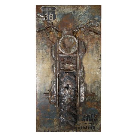 Wanddecoratie 70*140*8 cm Meerkleurig | JJWA00041 | Clayre & Eef