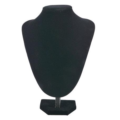 Sieraden display 19*25 cm Zwart | MLDS0061 | Clayre & Eef