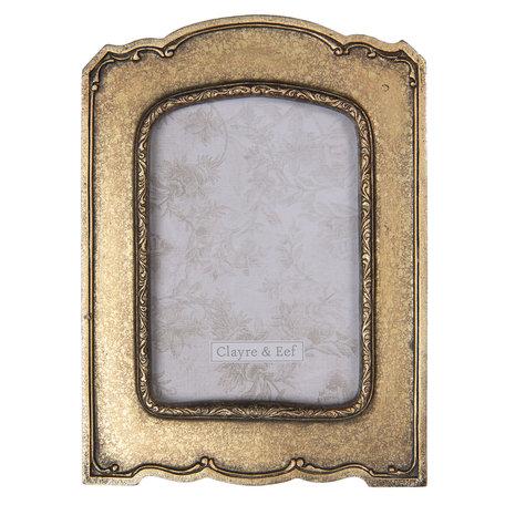 Fotolijst 15*2*21 cm / 10*15 cm Bruin | 2F0671 | Clayre & Eef