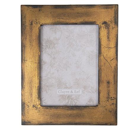 Fotolijst 19*1*24 cm / 13*18 cm Bruin | 2F0680 | Clayre & Eef