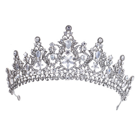 Kroon  Zilverkleurig | MLKR0004 | Clayre & Eef