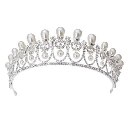Kroon  Zilverkleurig | MLKR0006 | Clayre & Eef