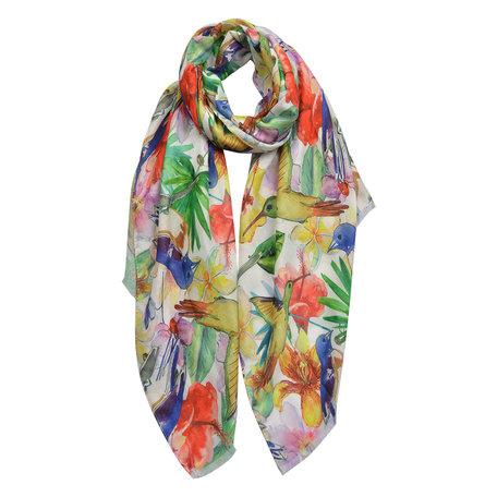 Sjaal 70*180 cm Meerkleurig | JZSC0433 | Clayre & Eef