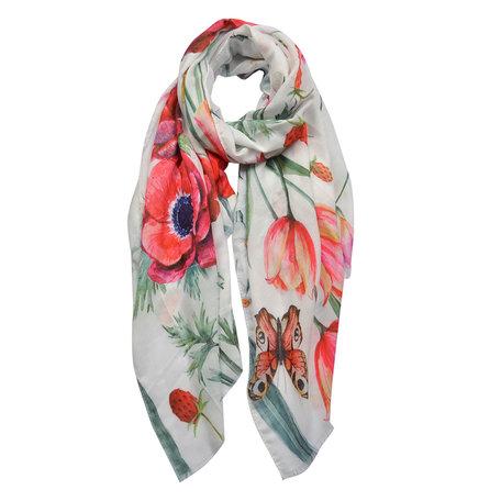 Sjaal 70*180 cm Roze | JZSC0434 | Clayre & Eef