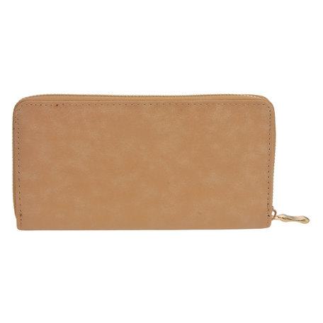 Portemonnee 19*10 cm Geel | JZWA0080Y | Clayre & Eef