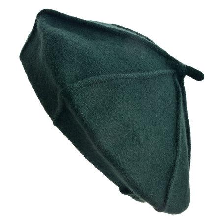 Baret 28 cm Groen   MLBE0006GR   Clayre & Eef