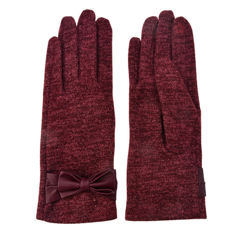 Handschoenen 8*24 cm Rood | MLGL0011BU | Clayre & Eef