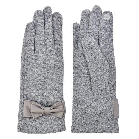 Handschoenen 8*24 cm Grijs | MLGL0011LG | Clayre & Eef
