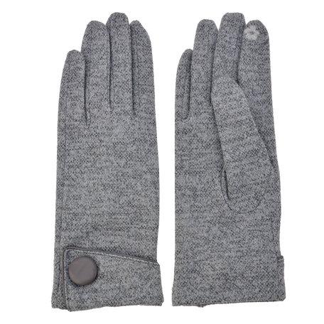 Handschoenen 8*24 cm Grijs | MLGL0012G | Clayre & Eef